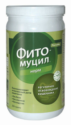 Фитомуцил 250 гр, Натуральный комплекс для устранения запоров, восстановления работы кишечника и облегчения симптомов геморроя
